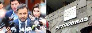 Aécio diz que Petrobras foi destruída e pede CPI