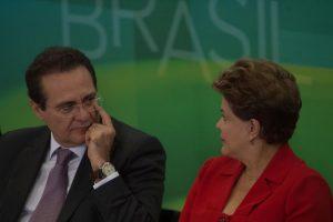Renan e Dilma foto marcelo camargo abr