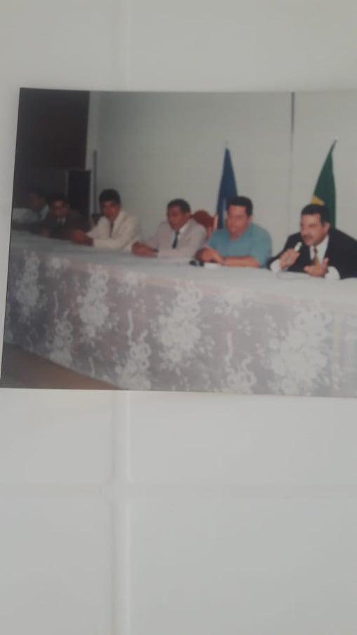Diretor Antonio Felício, o saudoso Paulo Moraes e Carlos Eduardo
