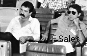 Reunião em Cuiabá no ano de 1982 – Luciano Agra, José Lamarques, Francisco Sales e na terceira filha Walllace Lucena