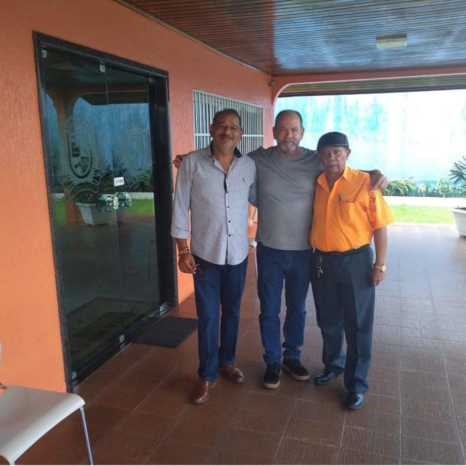 Mário Furtado, João Paulo e José Antonio Costa