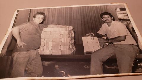 Parte do dinheiro do assalto ao BB de Porto Velho, na época o maior de todos os tempos