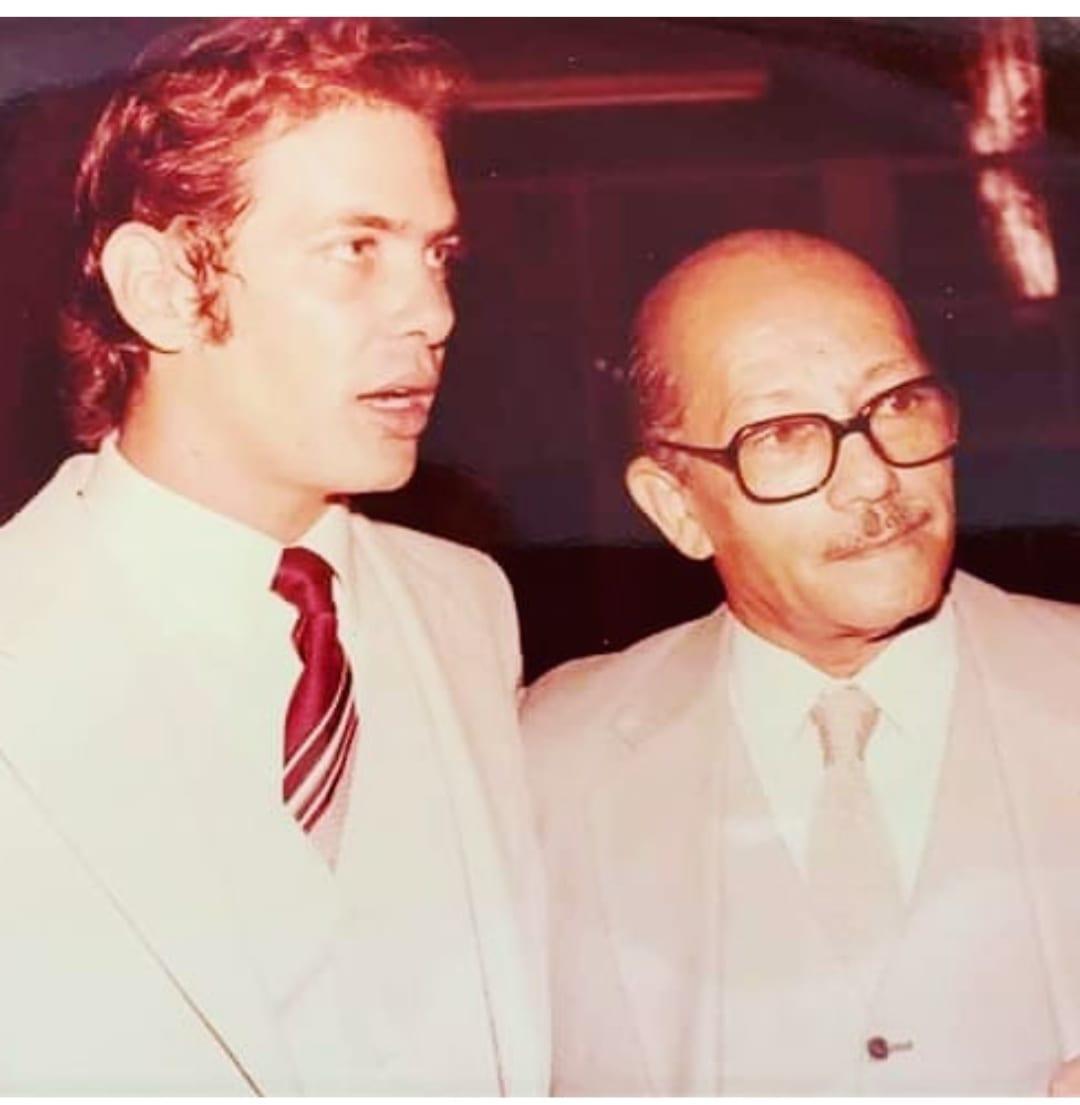 João Paulo das Virgens com o Jornalista Euro Tourinho