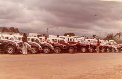 Entrega de viaturas nos Anos 80