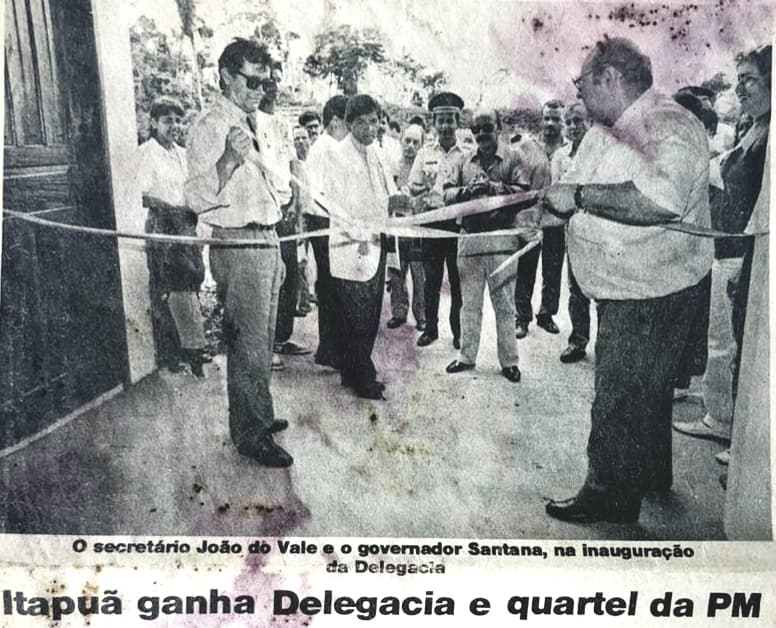 Inauguração da Delegacia de Itapuã do Oeste
