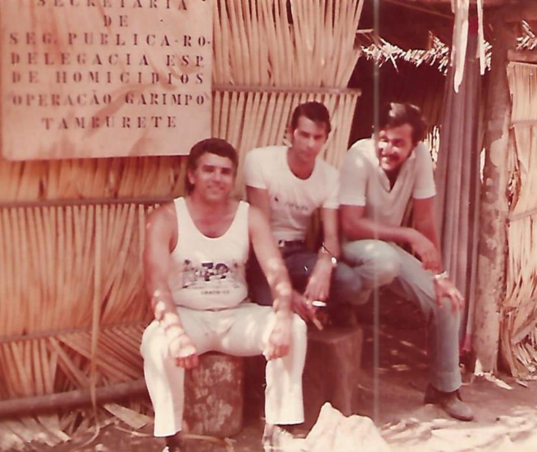 Fotos extraordinárias do Garimpo do Tamborete em 1980