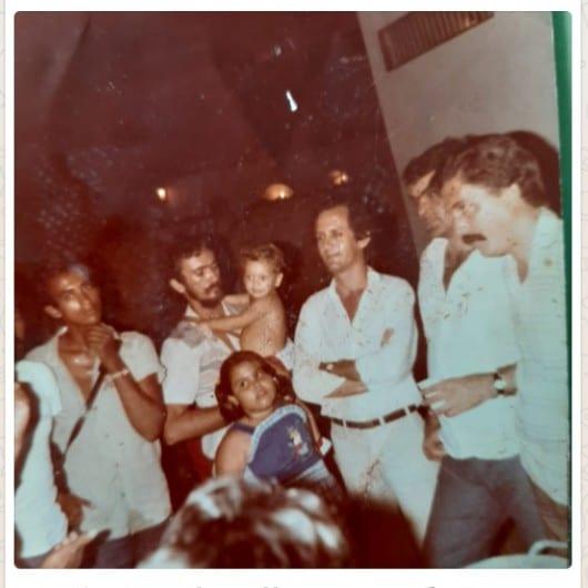 Festa de Natal no 3° Distrito Policial em 1982