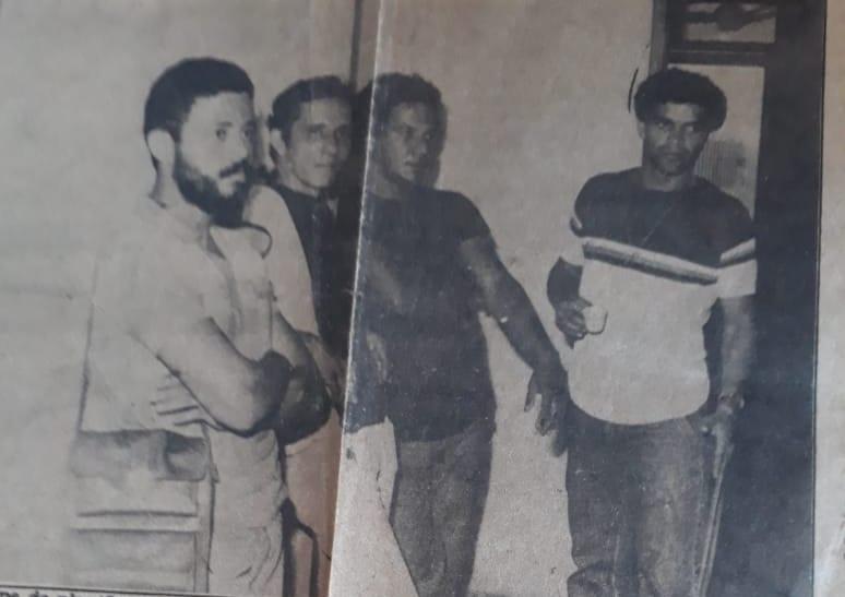 Equipe do 5º  Distrito Policial nos Anos 80