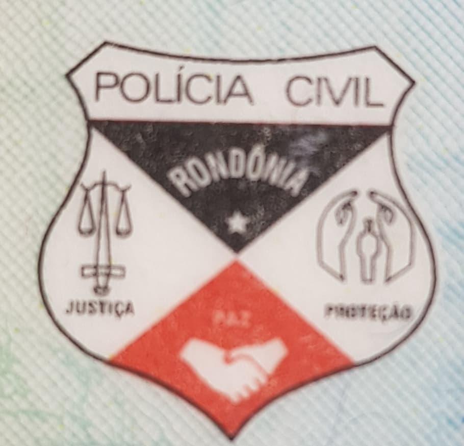 Antigo brasão da Polícia Civil de Rondônia