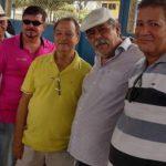 Veteranos: Martinelli, o falecido Clóvis Marinho, Iran e Jose Galdino.