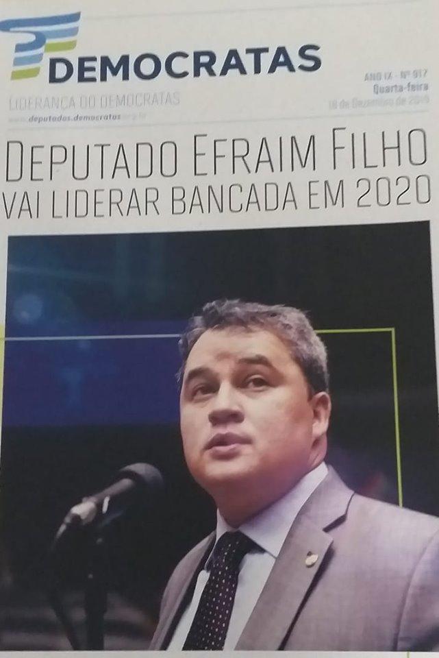 Deputado Efraim Filho, recebe Diretor do Sinpfetro.