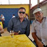Pedro Marinho e Iran no almoço do Sinpfetro