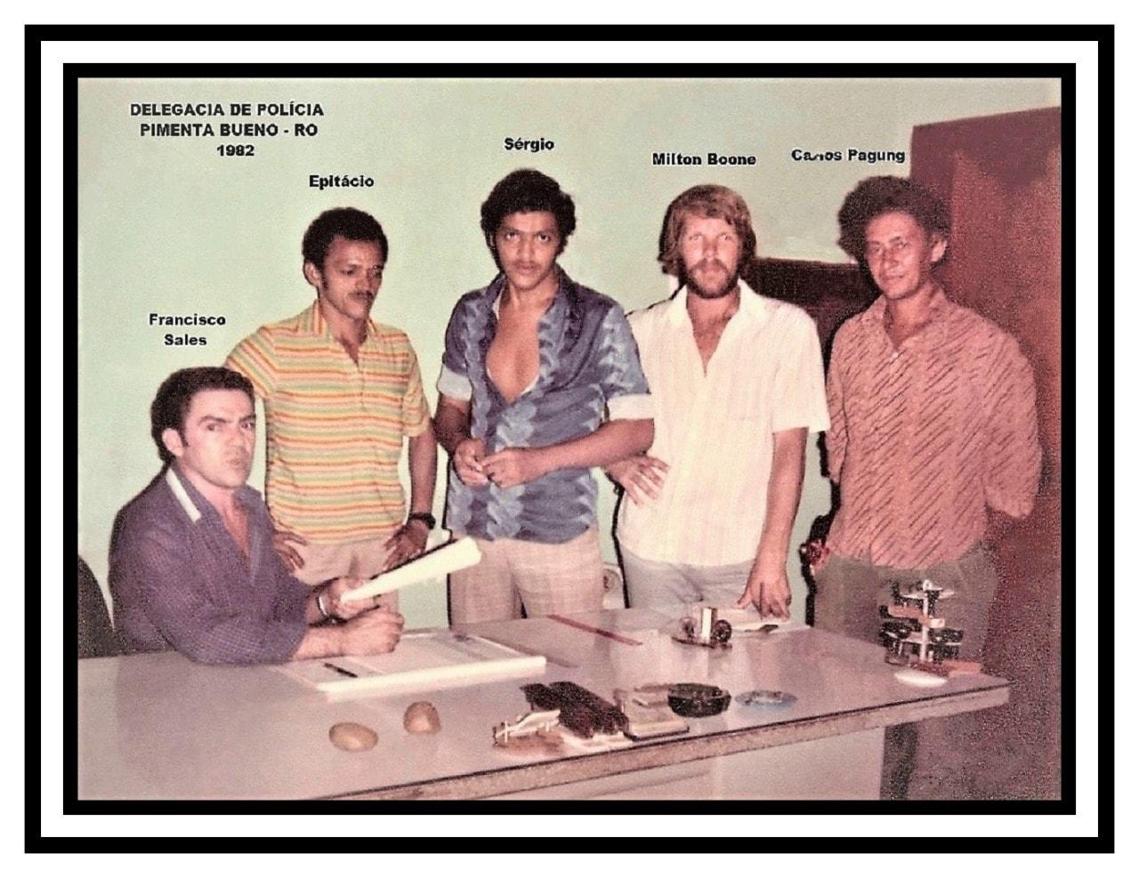 1982 – Delegacia de Polícia de Pimenta Bueno