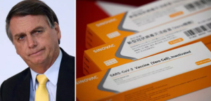 Vacina de Oxford, preferida por Bolsonaro, tem composto fabricado na China