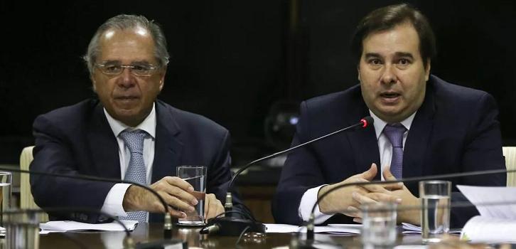 Em evento com Maia e Guedes, frente parlamentar propõe incluir atuais servidores na reforma administrativa