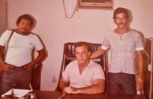 O saudoso Sérgio de Freitas Pimentel Barriga, o saudoso Walderedo Paiva dos Santos  e João Paulo das Virgens.