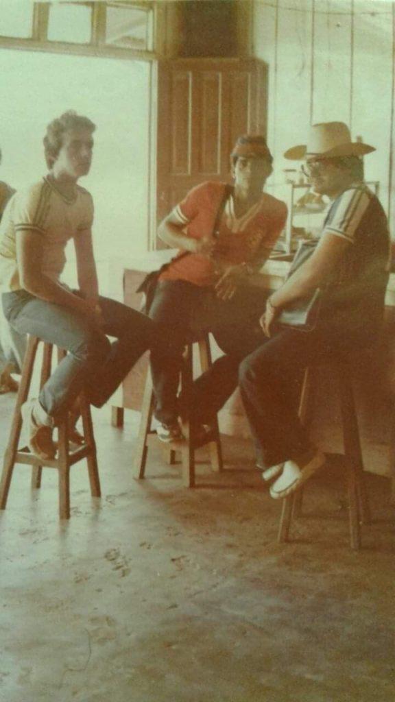 Anselo Rabelo, João Batista Damasceno e Gilberto Rosa
