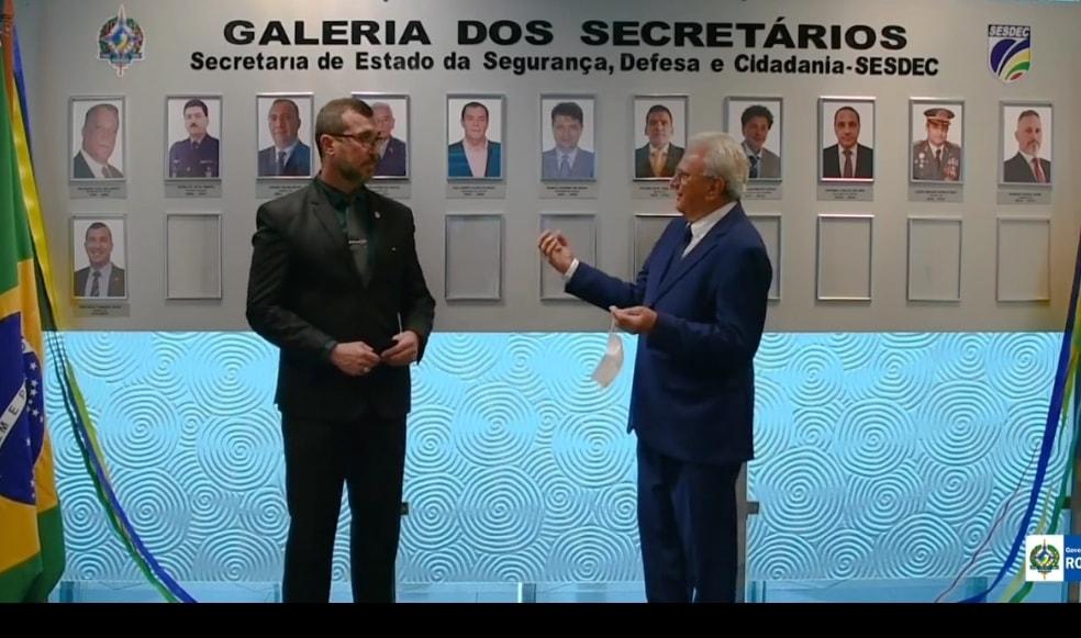 INAUGURADA GALERIA DOS EX-SECRETÁRIOS DA SESDEC, COM ALGUMAS AUSÊNCIAS