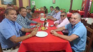 Almoço de confraternização entre colegas policiais