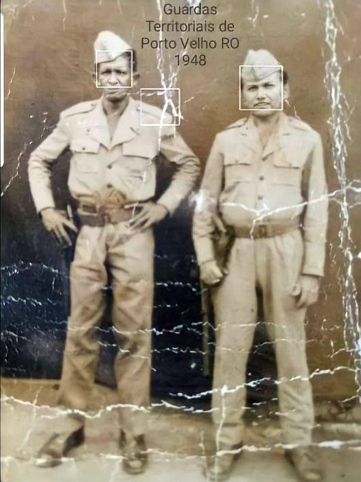 1948 –  Guardas territoriais Inocêncio Alves Maciel e Sartunino.*