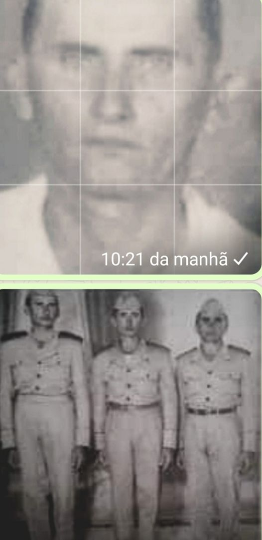 Três irmãos que fizeram parte da Guarda Territorial