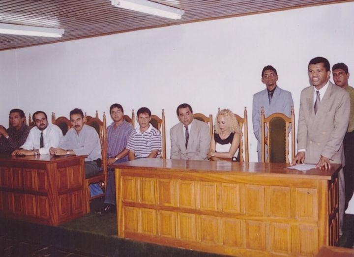 2001 – Posse de Atanael Pinheiro dos Santos no Sinsepol hoje Sinpol/RO
