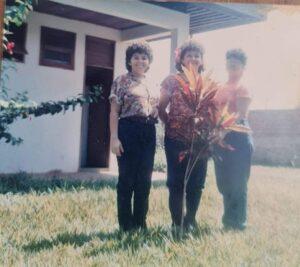 As colegas policiais  Clotilde, Delza e a saudosa Selma Pimentel.