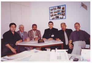 2002 – Colegas policiais recebem homenagem na Alemanha.