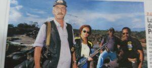 Policiais de Guajara-Mirim em Revista Francesa.