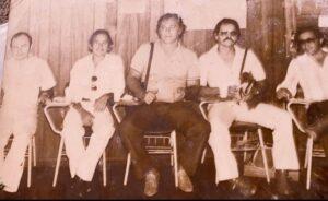 Policiais em Vilhena – 1980