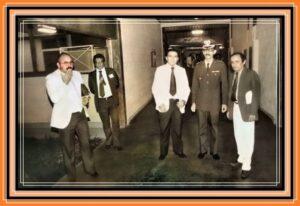 Colegas na antiga Escola de Polícia e hoje Academia de Polícia Del. Luiz Glaysmann de Oliveira