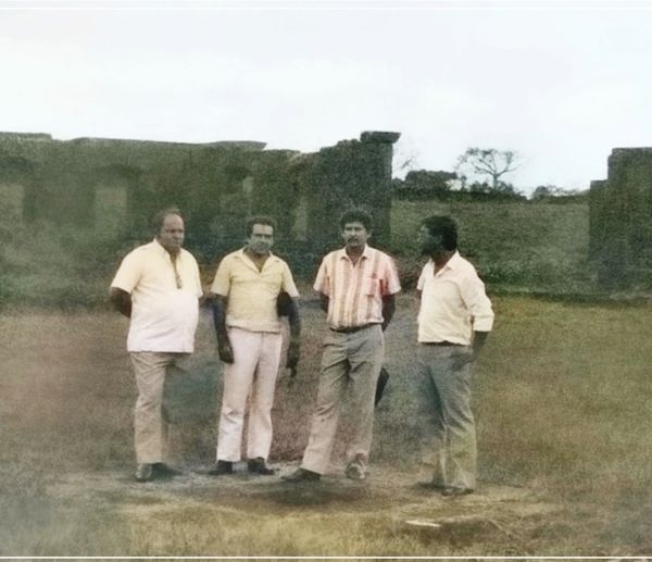 Colegas na Fortaleza em Costa Marques